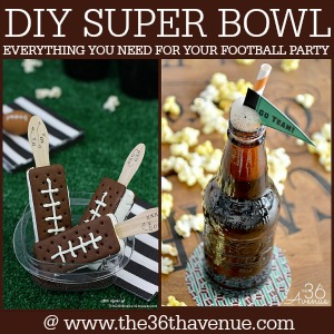 Super Bowl Party Ideas at the36thavenue.com