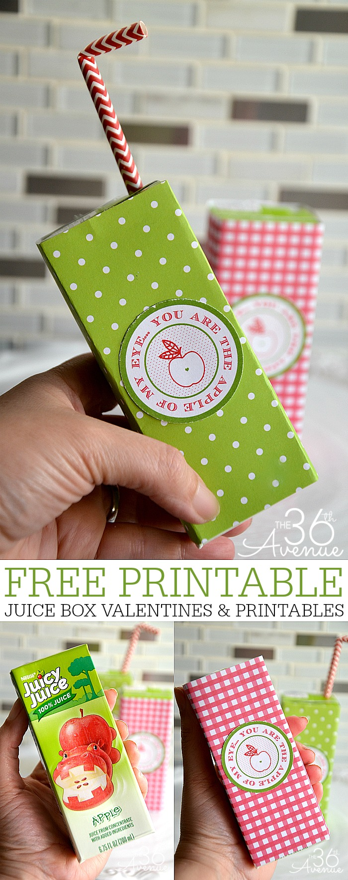 Valentines and Free Printables : These super cute non-candy valentines are perfect for classmates and class parties!