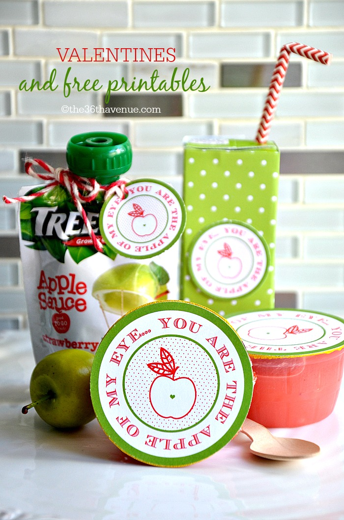 Gift Idea - DIY Apple Treats and Free Printable at the36thavenue.com