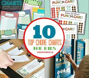 Chores Charts for Kids