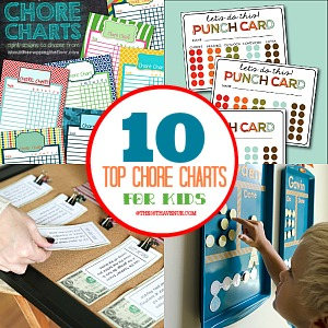 Top 10 Chore Charts for Kids at the36thavenue.com