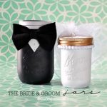 Mason Jar Crafts – Groom & Bride