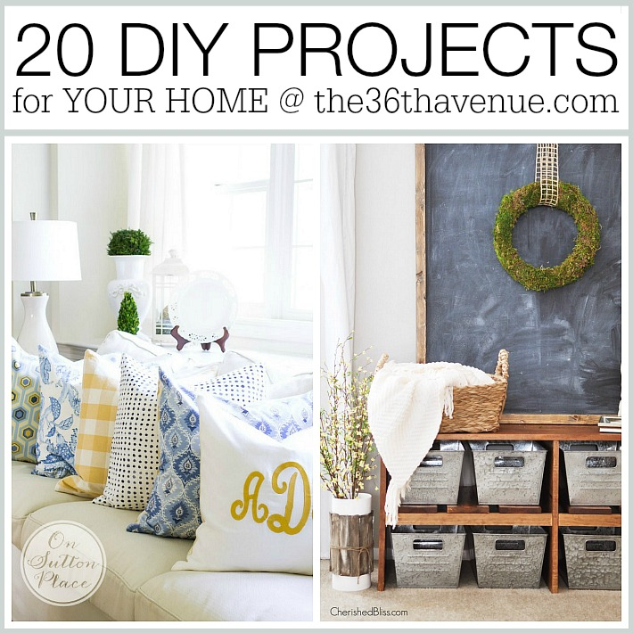 DIY Home Projects at the36thavenue.com - Pin it now and make them later!