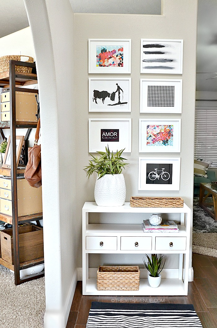 Small Foyer Wall Decor : The th avenue home decor entryway and free