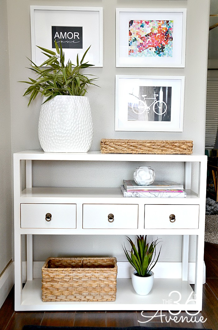 Home decor entryway and free printables the 36th for Best home decor blogs 2015
