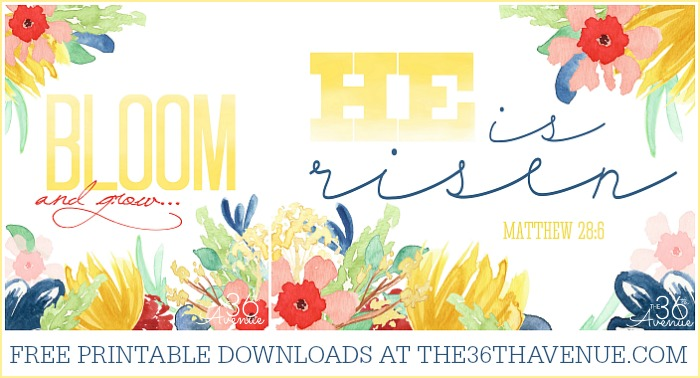 Free Printables at the36thavenue.com