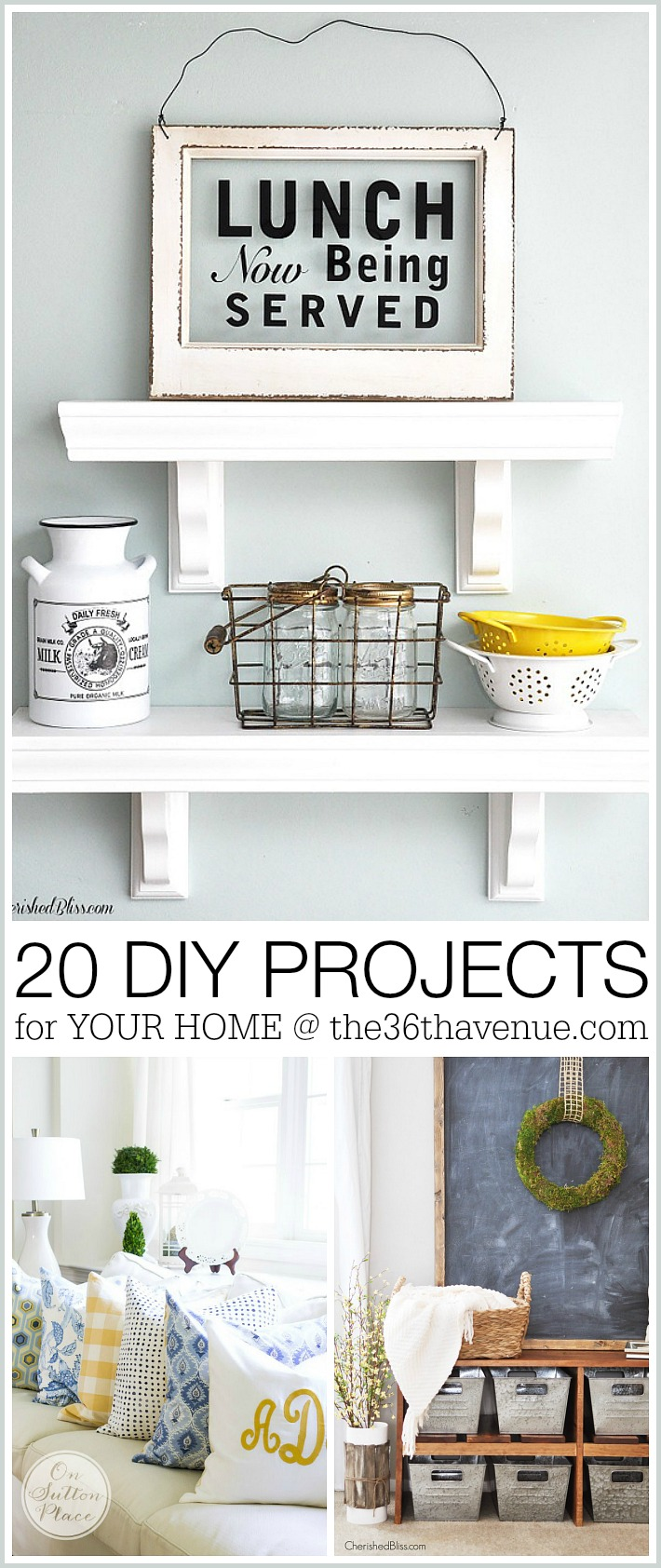 Home decor diy projects the 36th avenue Diy ideas for home design