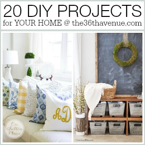 Home Decor DIY Projects that you can make over at the36thavenue.com Pin it now and make them later!