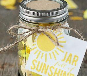 Handmade Gifts – Sunshine in a Jar