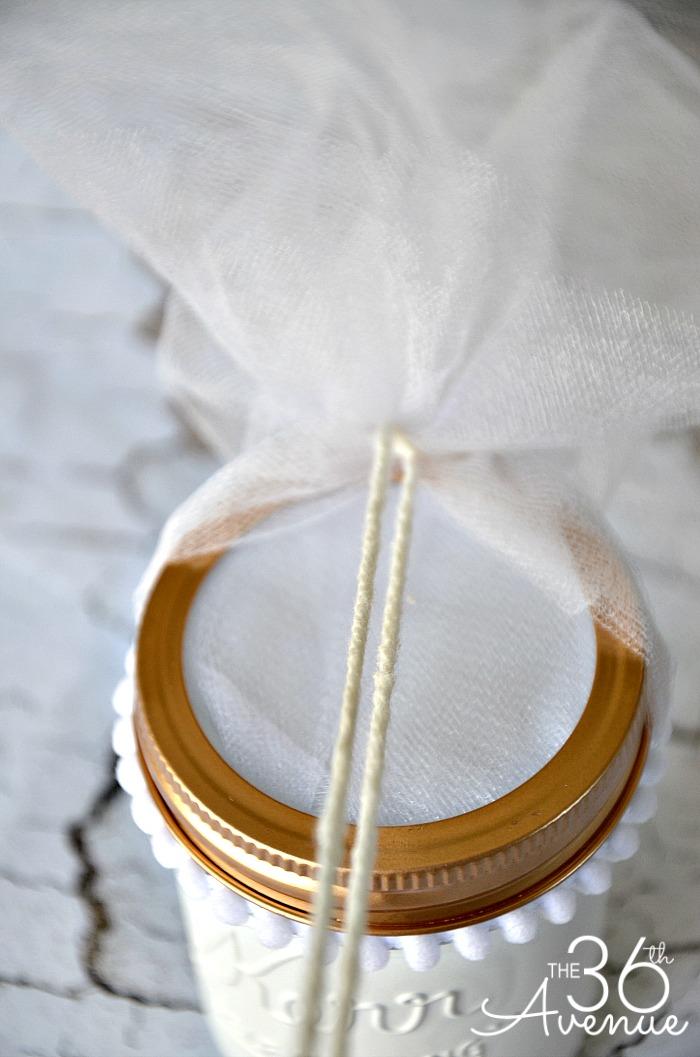 Mason Jar Crafts Bride 2 the36thavenue.com