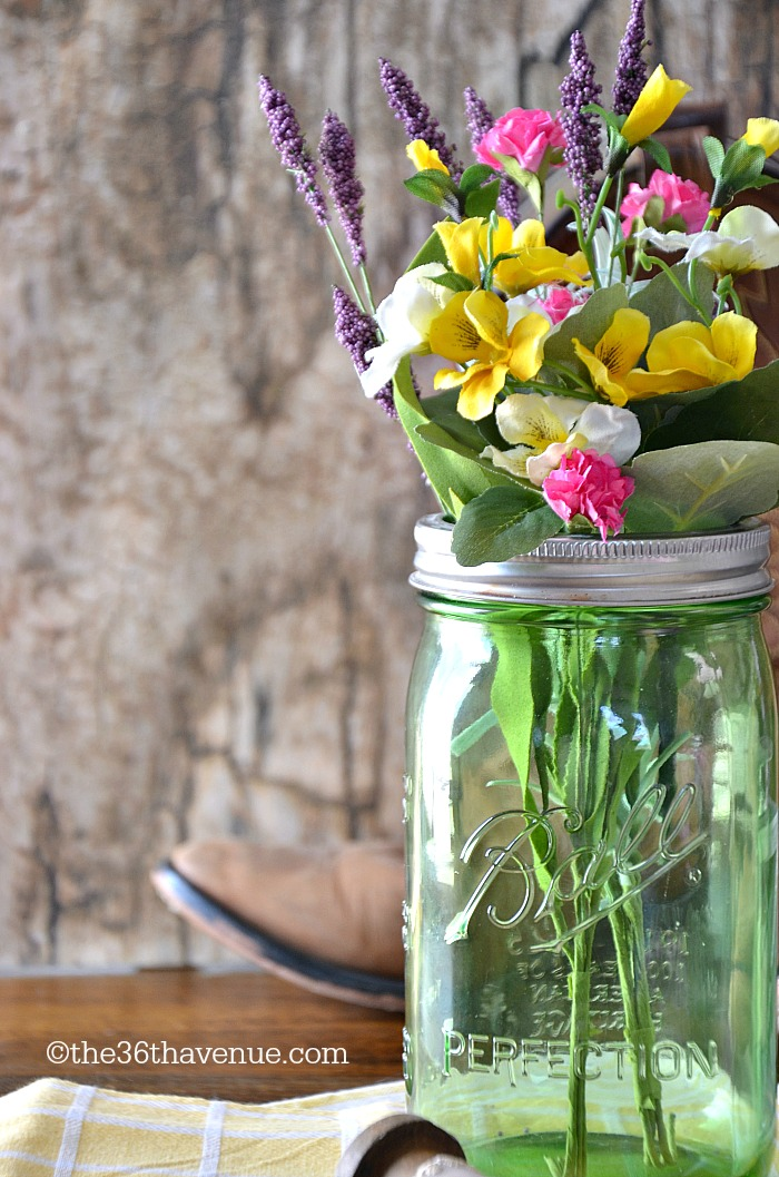 Mason Jar Crafts Country Centerpiece The 36th Avenue