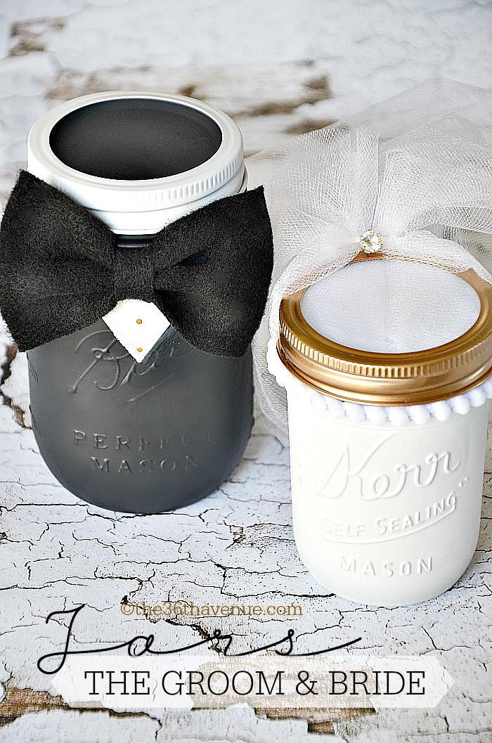 Mason Jar Crafts Groom Amp Bride The 36th Avenue