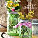 Mason Jar Crafts – Country Centerpiece
