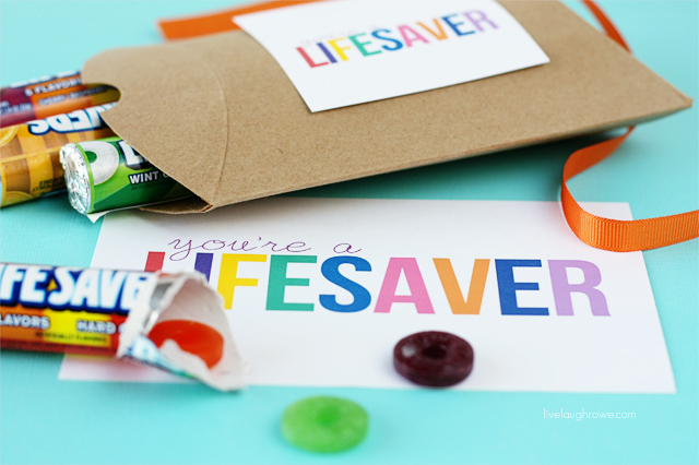 You're A Lifesaver Printable