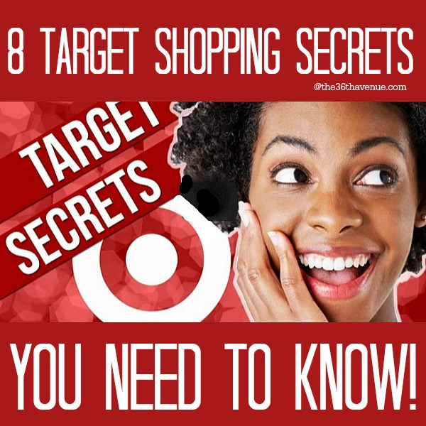 8 Target Shopping Secrets you need to know at the36thavenue.com
