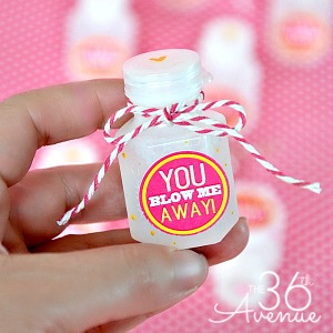 Valentine Printables – You Blow Me Away