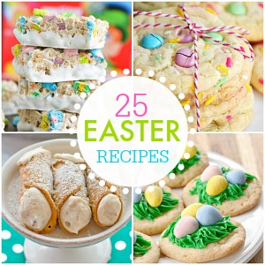 25 EASTER Recipes 300 the36thavenue.com