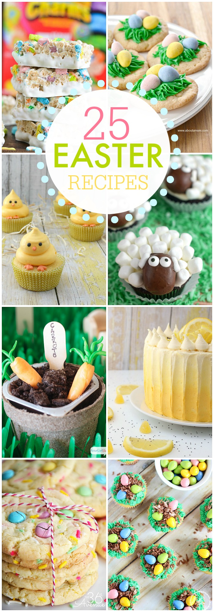 25 Easter Recipes at the36thavenue.com