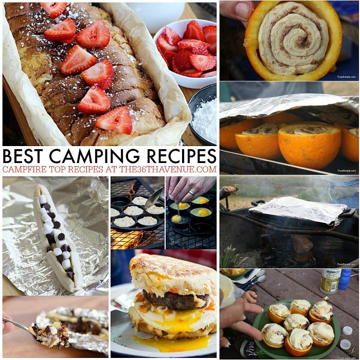 Best Camping Recipes FB at the36thavenue.com