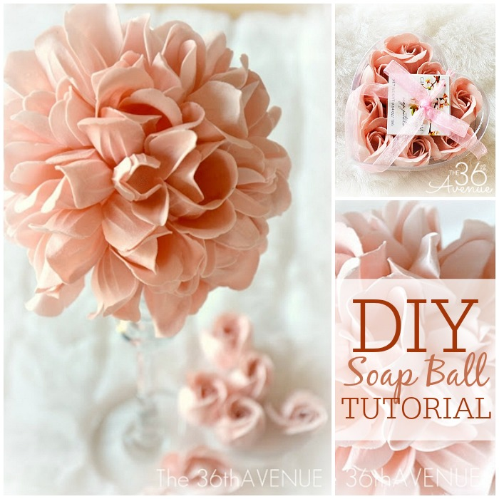Crafts - Soap Ball Tutorial at the36thavenue.com