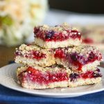 Berry Medley Crumble Bars Recipe