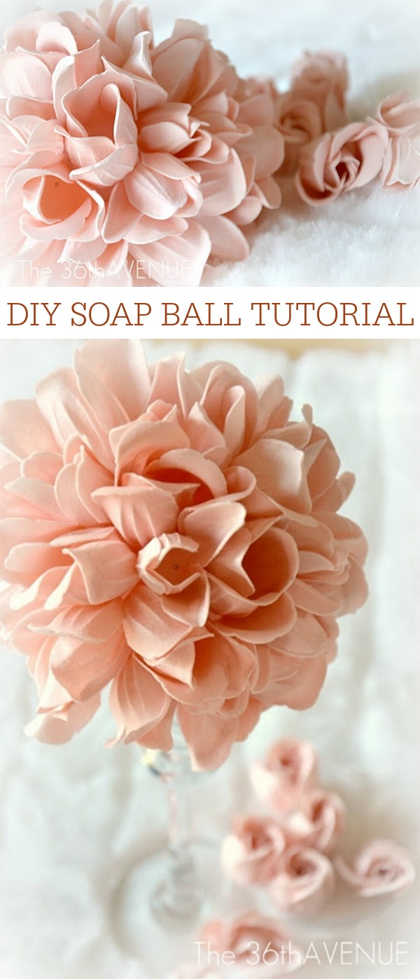 Crafts - Soap Ball Tutorial at the36thavenue.com Pin it NOW and make them LATER!