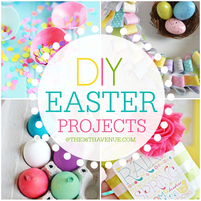 DIY Easter Crafts and Decor Ideas that you can make at the36thavenue.com