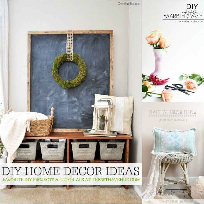 The 36th avenue diy home decor ideas the 36th avenue for Handmade home decorations ideas