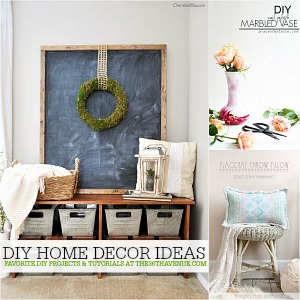 Home Decor DIY Ideas at the36thavenue.com