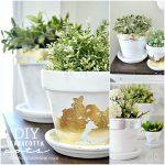 DIY Home Decor – Terracotta Pots