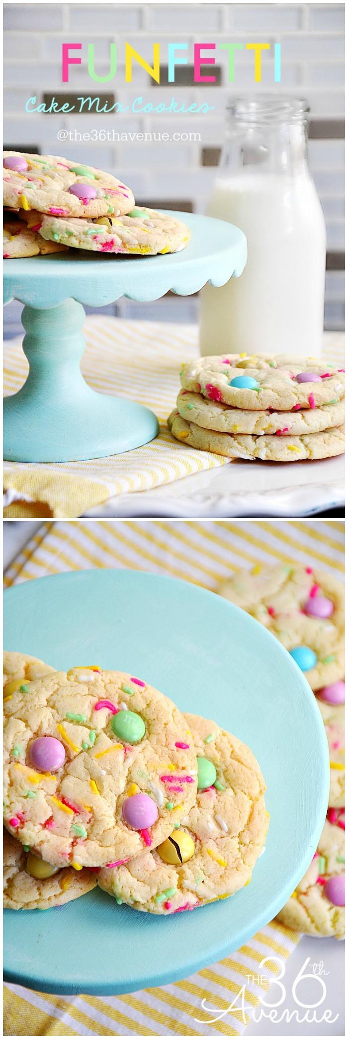 Funfetti Cookie Recipe From Cake Box