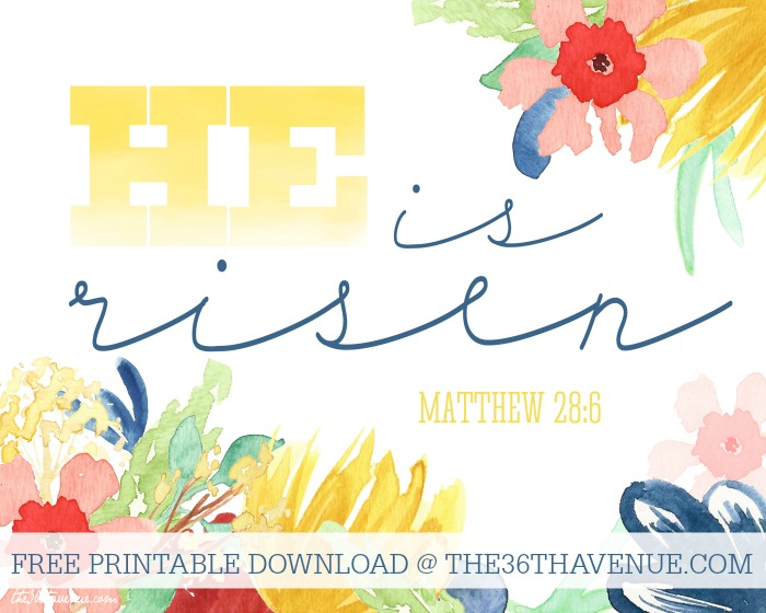 Free Easter Printables - Super cute and festive printables at the36thavenue.com ...Pin it now and print them later!