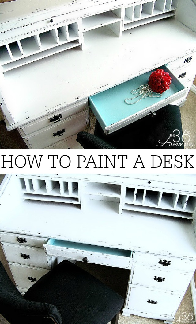 How to paint furniture TUTORIAL at the36thavenue.com