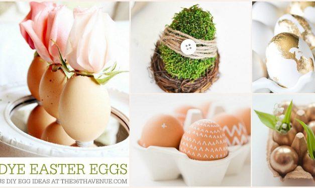 DIY Easter Eggs – No Dye Ideas