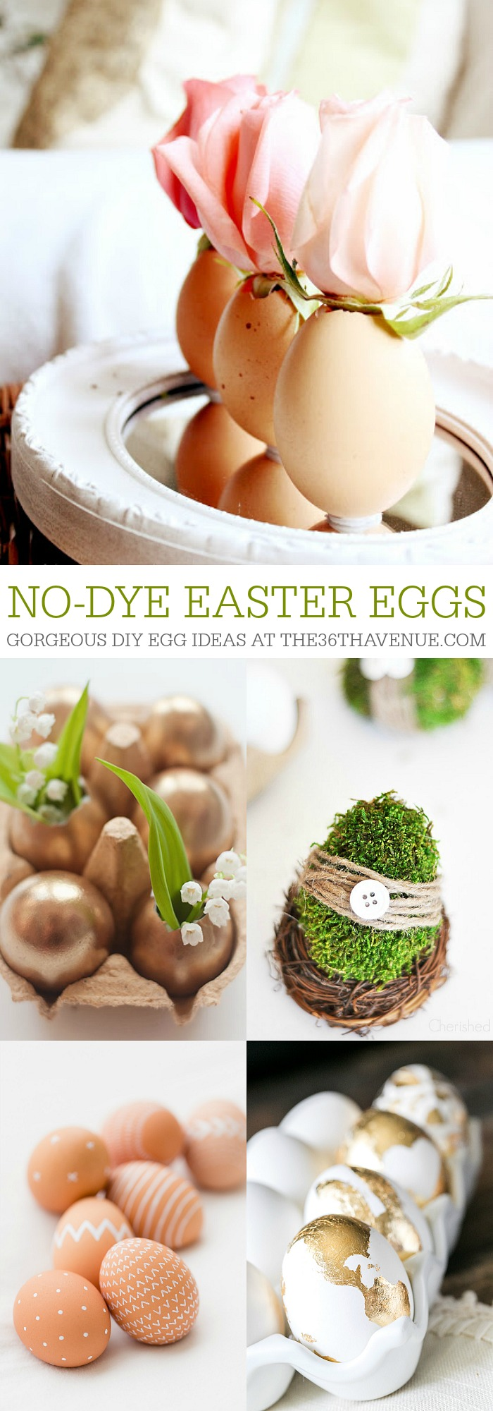 No Dye Easter Eggs at the36thavenue.com Pin it!