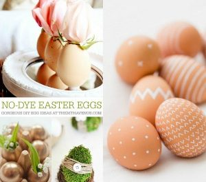 DIY Easter Eggs – No Dye Ideas