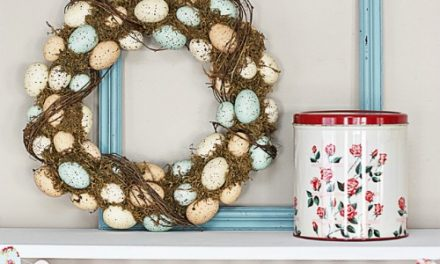 Easter Crafts – Shabby Chic Garland