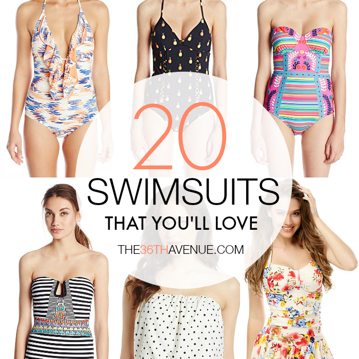 Swimsuits - Cutest swimsuits at the36thavenue.com MUST SEE!