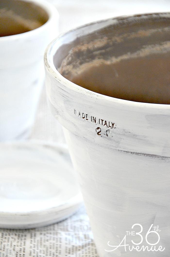 Terracota Pots Tutorial 5 by the36thavenue.com