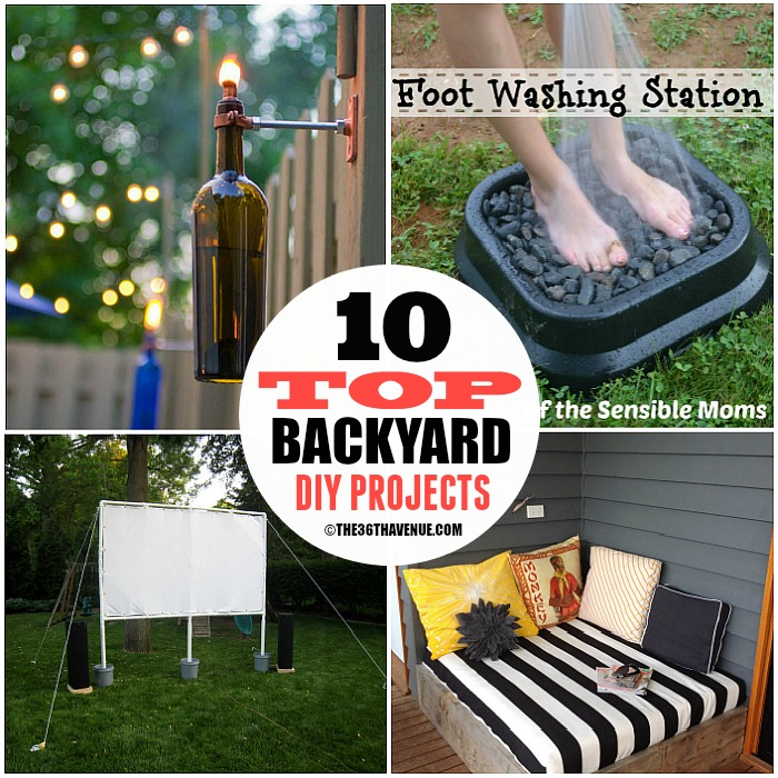 DIY Home Projects – Backyard Ideas