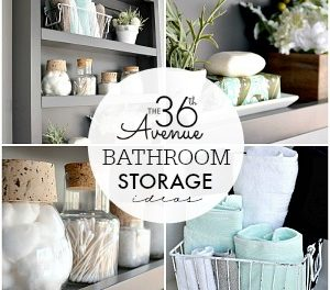 Bathroom Storage Organization Ideas