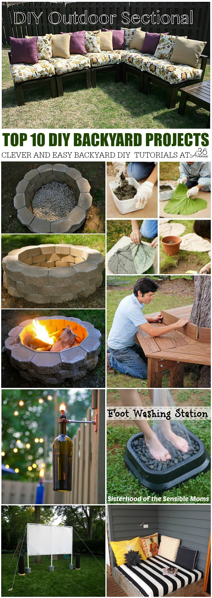 The 36th AVENUE DIY Home Projects Backyard Ideas The