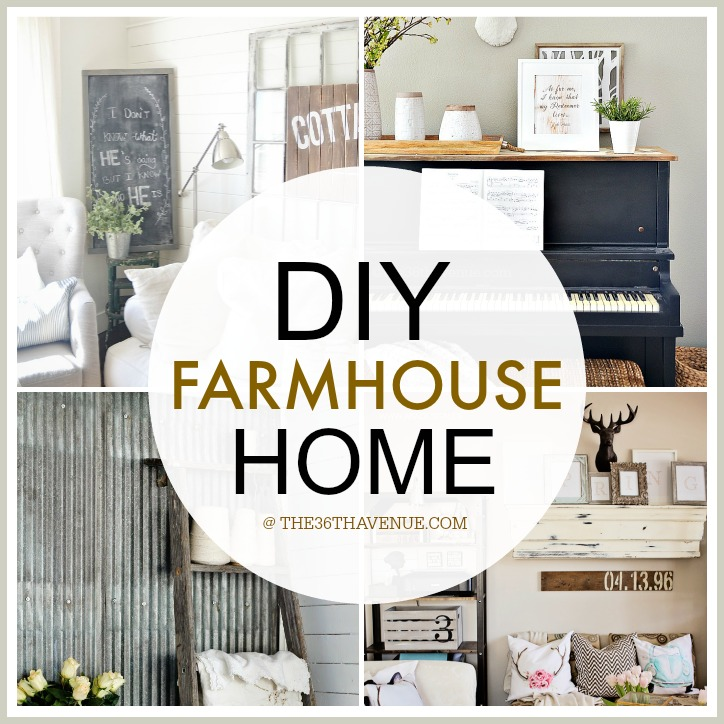 Home decor diy projects farmhouse design the 36th for Best home decor blogs 2015