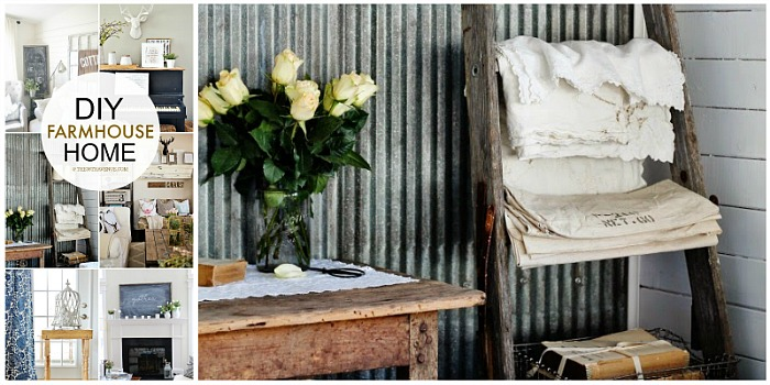 DIY Home Decor - Love these farmhouse decor ideas at the36thavenue.com ...So much inspiration!