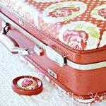 Decoupage Suitcase Tutorial