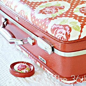 Decoupage Suitcase Tutorial