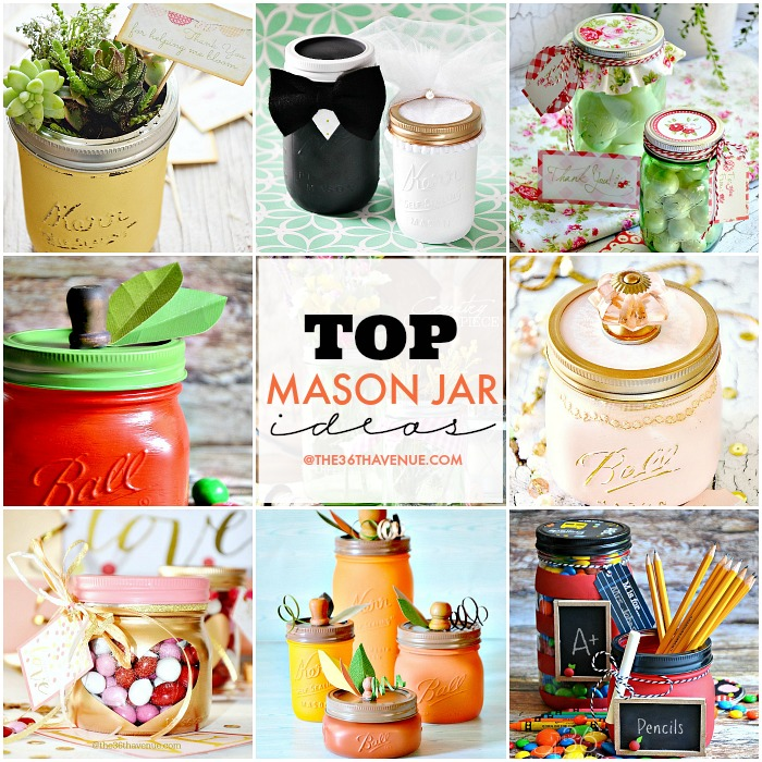Top Mason Jar Craft Ideas The 36th Avenue