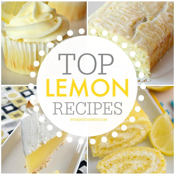 Best Lemon Recipes FB at  the36thavenue.com  Pin it now and make them later!