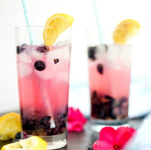 Blueberry Lemonade Recipe by placeofmytaste.com