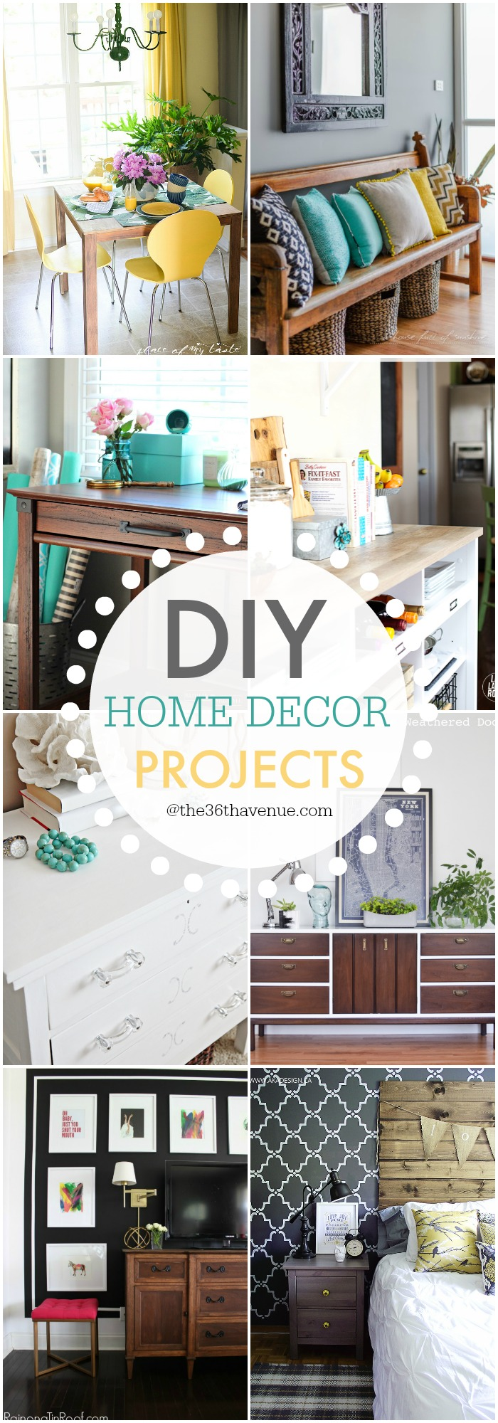 The 36th avenue diy home decor projects and ideas the for Home decor ideas at home